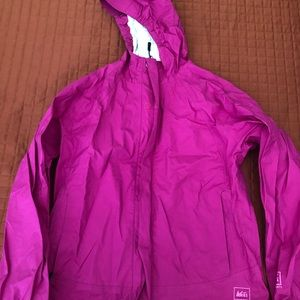 rei girls raincoat